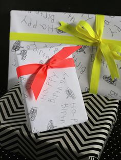 homemade-wrapping-paper