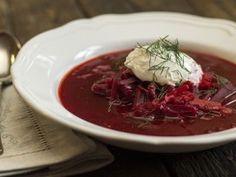 Ukrán céklaleves | NOSALTY Vegan Soup, Cabbage, Beef, Vegetables, Cooking, Recipes, Food, Soups, Meat