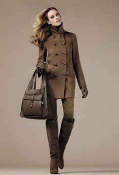 Loro Piana...love the overcoat, the boots and the bag