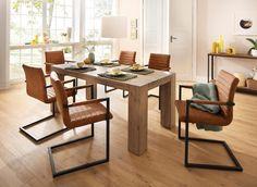 Home Affaire Esstischgruppe 7 Tlg Bine Braun Strapazierfahig Fsc Zertifiziert Jetzt Bestellen U Kuchentisch Und Stuhle Stuhl Mit Armlehne Esszimmerstuhle