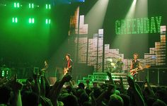 Green Day Concert Stage (Montreal) - Green Day is Ever Green by Anirudh Koul, via Flickr