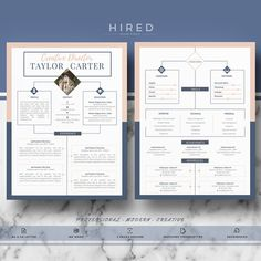 83 best modern professional elegant resume templates images on