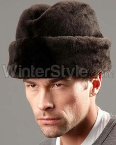 Mouton Sheepskin Russian Cossack Winter Hat - Brown 8697d0dfccc8