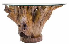 How to Make Tree Stump Coffee Table - http://dewi.penandpencil.net/how-to-make-tree-stump-coffee-table/ : #CoffeeTable A tree stump coffee table, as the name implies, the main body of the table is made from a tree stump as. With it, you can save a lot of things. Instructions to make tree stump coffee table: get your tree stump. Cut the stem to the desired height. It cans about 2-2.5 meters. Use a chainsaw and...
