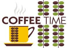 HORA DEL CAFÉ.  Impresión original