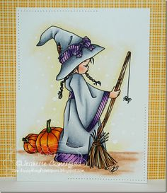 Happy Thoughts & Inkspots: Little Witch