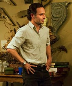 Rick Grimesmy favorite character! So perfect...