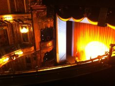 The view from the Upper Circle of the Theatre Royal Haymarket. There are approximately 890 seats in the theatre split over four levels; the Stalls, Royal Circle, Upper Circle and Gallery. Theatre Royal Haymarket, Stalls, Gallery, Roof Rack