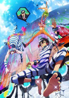 Nueva imagen promocional y reparto adicional del Anime Nanbaka.