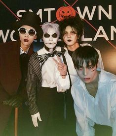 NCT at the smtown Halloween party Nct Johnny, Johnny Seo, Winwin, Taeyong, Jaehyun, Nct 127, Nct Yuta, Rapper, Nct U Members