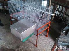 Jaula para Conejos, comedero y madrigueras  Venta de Jaulas para conejo, reproducción de dos compartimientos con comederos y bebedero. Venta de ...  http://bogota-city.evisos.com.co/jaula-para-conejos-comedero-y-madrigueras-id-448246