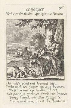 Jager, Caspar Luyken, Jan Luyken, Jan Luyken, 1694