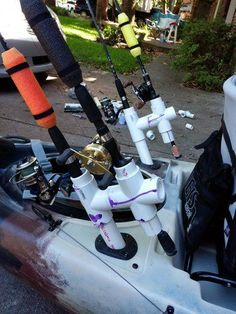 When you go for kayaking, you have to need many things and gear. There are a lot of gear and parts of a kayak. All the Accessory are most important. Some Accessory are used for safety and some of them are used for better kayaking and fishing. Kayak Fishing Gear, Saltwater Fishing Gear, Kayaking Gear, Fishing Rigs, Canoe And Kayak, Fishing Boats, Canoe Boat, Bass Fishing, River Kayak