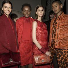 on safari with akris autumn/winter 16 http://ift.tt/1Ubj76w #i-D #Fashion