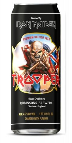 Iron Maiden -  Trooper Had this at Showdogs in SF Quite delish!
