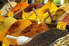 ... Turkey Spices at the Spice Market—Istanbul, ...