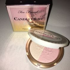TOO FACED: Highlighter Duo- Rosy Glow Extra highlighter