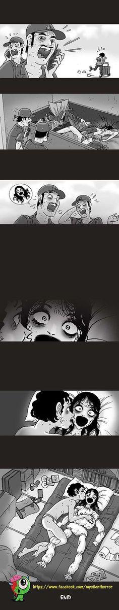 Silent Horror :: Trash | Tapastic Comics - image 3