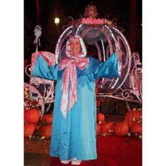 Homemade Fairy Godmother Halloween Costume
