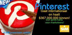 Pinterest Gaat Internationaal En Haalt Miljoenen Binnen Een Grote kans Voor Marketeers