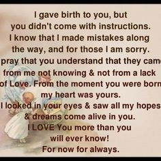 To my girls. One of my wishes in life is that I will be forgiven by my girls because of the mistakes I have made. I love you and hope you love me too despite my many flaws. I only want the best for each of you.