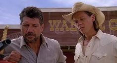 Tremors...One of the few movies Kevin Bacon doesn't get naked in
