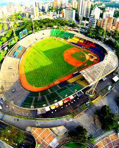 Panóramica del Estadio Universitario de Caracas. Inauguración: 1952 Venezuela