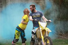Motocross Gender reveal Mx baby on the way!