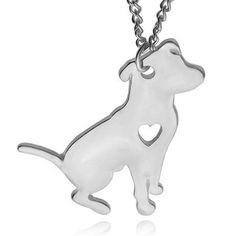 Colar de Coração para Amantes do animal de Estimação Filhote de Cachorro Pingente Memorial Colar