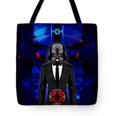 Darth Vader Tote Bag Star Wars Geometric Tote Beach Bag Shopping Bag $23.50 by Filip Aleksandrov, Ships from USA