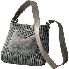 UGG Women's Cardy Knit Crossbody Bag (On Cabelas.com) - Love the style, but I wonder if I could make something similar for much less. Hmm...