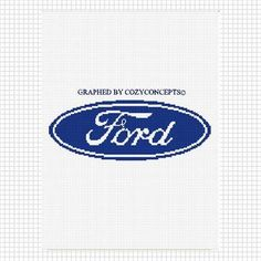 COZYCONCEPTS FORD CAR CROCHET AFGHAN PATTERN GRAPH EMAILED PDF | CozyConcepts - Patterns on ArtFire