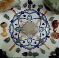 October 7, Crystal Grid, Paradise, Clock, Create, Friends, Crystals, Watch, Amigos