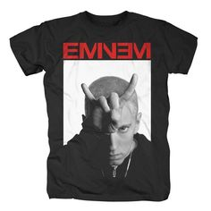 876c4881a Eminem Mens HIP HOP Swag White rapper Tshirt Marshall mathers hipster  Singlet on Etsy