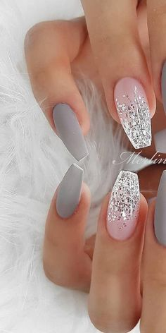 img) Want to see new nail art? These nail designs are really great Picture 72 – Nageldesign – img) Want to see new nail art? These nail designs are really great Picture 72 – Nageldesign – … Cute Acrylic Nails, Acrylic Nail Designs, Cute Nails, Pretty Nails, Nail Art Designs, Gel Nails, Nail Polish, Nails Design, Pastel Nails