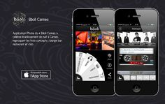 App Bâoli - Cannes Application Iphone, Mobile Application, Applications Mobiles, Restaurant, Cannes, Restaurants, Dining Rooms