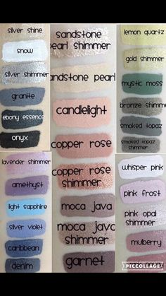 Shadowsense colors. Distributor # 198562. Join my Facebook group Country Kisses