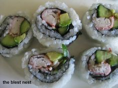California Roll Dreaming (:  So in love with sushi!