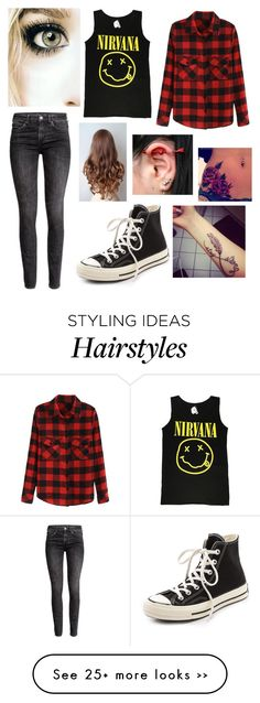 """""""Untitled #1725"""" by beau-4-ever on Polyvore featuring H&M and Converse"""