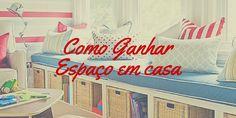 Como ganhar espaço em casa :http://blogchegadebagunca.com.br/como-ganhar-espaco-em-casa/