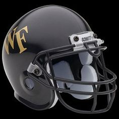 Wake Forest Demon Deacons Schutt Mini Junior Helmet