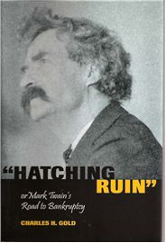 """In """"Hatching Ruin,"""" Charles H. Gold provides a complete description of Samuel L. Clemens's business relationships with Charles L. Webster and James W. Paige during the 1880s. Gold analyzes how these relationships affected Clemens as a person and an artist, most notably in A Connecticut Yankee in King Arthur's Court."""