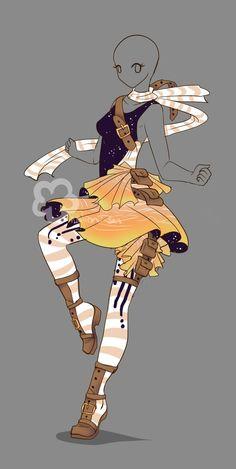 Fantasy Outfit #7 - Auction closed by Nahemii-san.deviantart.com on @DeviantArt