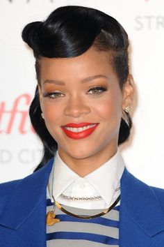 Love her hair, Finger waved updo......UNDERCUT