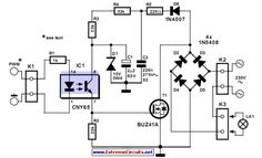 Dimmer With A MOSFET Circuit Diagram