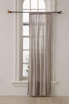 Pompom Curtain