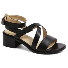SHARE & Get it FREE | Fashion Cross-Strap and Black Design Women's SandalsFor Fashion Lovers only:80,000+ Items·FREE SHIPPING Join Dresslily: Get YOUR $50 NOW!