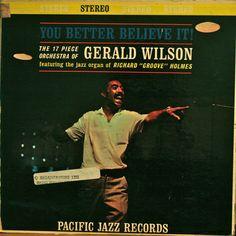 Gerald Wilson You Better Believe It- dollar vinyl