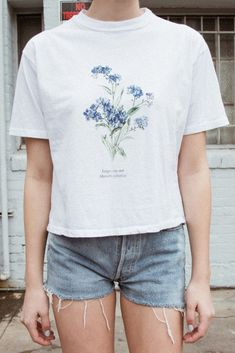Aleena Forget Me Not Top $22 - Just In - Brandy Melville