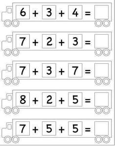 Math Coloring Worksheets, Free Printable Math Worksheets, 2nd Grade Math Worksheets, English Grammar For Kids, English Writing, Math Sheets, Numbers Kindergarten, Math Class, Math 2